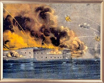The Battle of Fort. Sumter Official Records and Battle Description